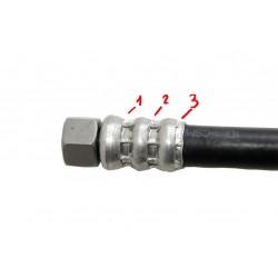 Вибрация после замены шлангов высокого давления гидроусилителя руля (гур)